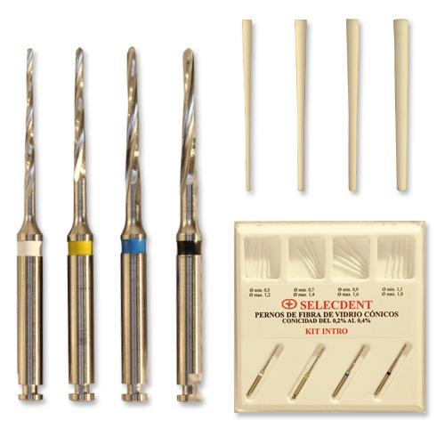 Kit OFERTA pernos Selecdent fibra de vidrio