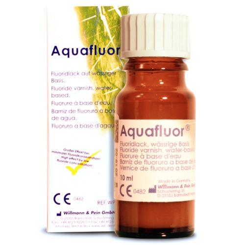 AquaFluor Barniz desensibilizante. Uso profesional