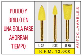 Pulidor y Abrillantador Unicas U32 - U33 - U35