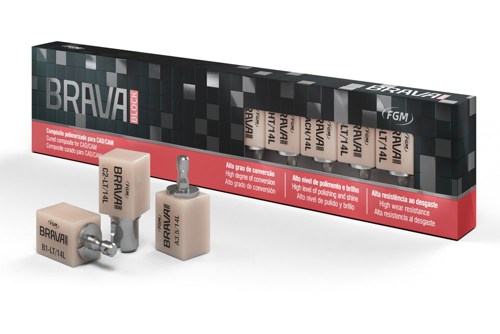 COMPOSITE CURADO PARA CAD-CAM / BRAVA BLOCK