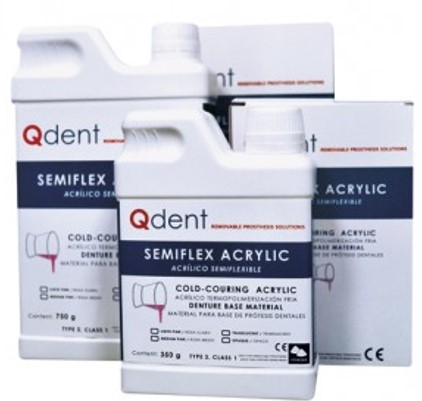 RESINA Q-DENT SEMIFLEX ACRILYC